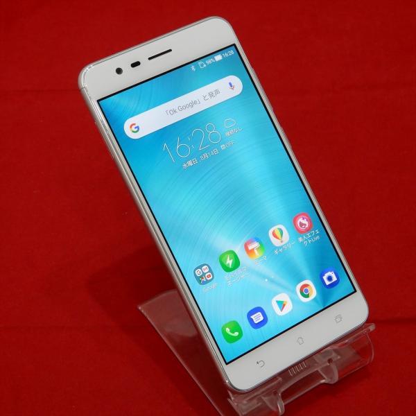 ZenFone Zoom S 64GB シルバー SIMフリーの画像