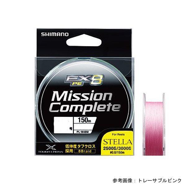シマノ ミッションコンプリートEX8 150M PL‐M58M Tピンク 1.2