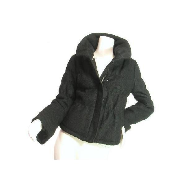 ジャケットブルゾンループツイードヘチマカラー立ち襟りふんわり上品シルエットチャコールグレーブラックSeduce|seduce|06