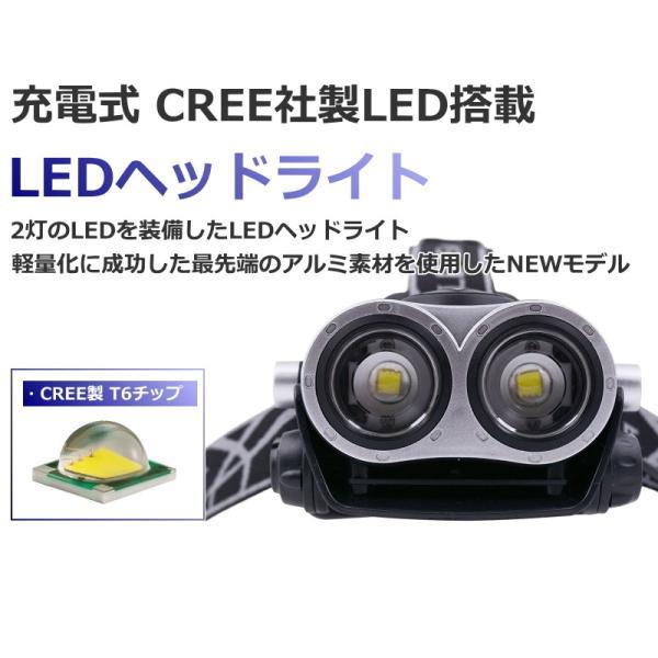 最大P25倍 LEDヘッドランプ LEDヘッドライト フォーカス機能 ブラック CREE社/米国 T6 バッテリー 充電 3段階 登山 懐中電灯 アウトドア レジャー キャンプ 釣り|seedjapan|02
