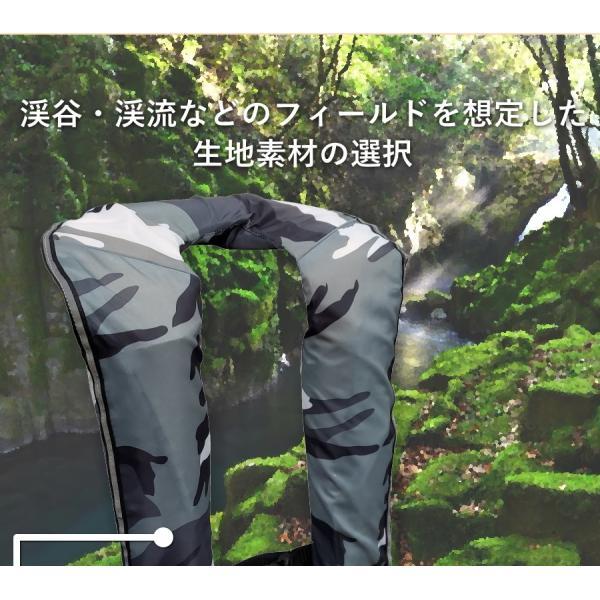 P15%が戻る日 ライフジャケット ベストタイプ 釣り フィッシング 手動膨張式 肩掛け 男女兼用 フリーサイズ オックスフォード素材 救命胴衣|seedjapan|05