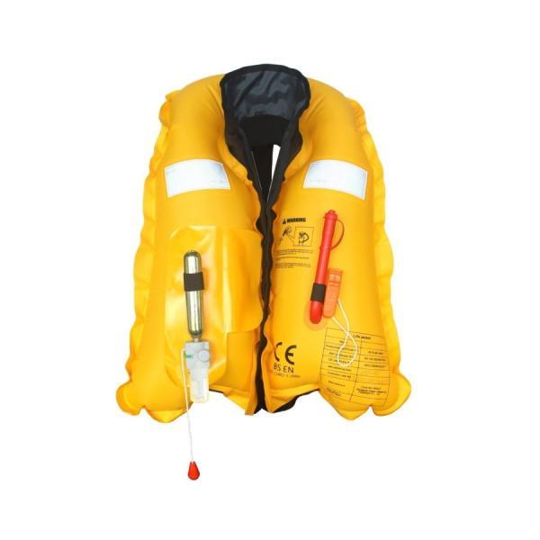 P15%が戻る日 ライフジャケット オレンジ ベストタイプ 釣り フィッシング 手動膨張式 肩掛け 男女兼用 フリーサイズ インフレータブル 救命胴衣|seedjapan|05