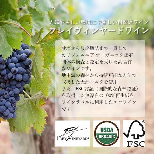 オーガニックワイン フレイヴィンヤード カベルネソーヴィニヨン 750ml アメリカ産 seedleaf 06