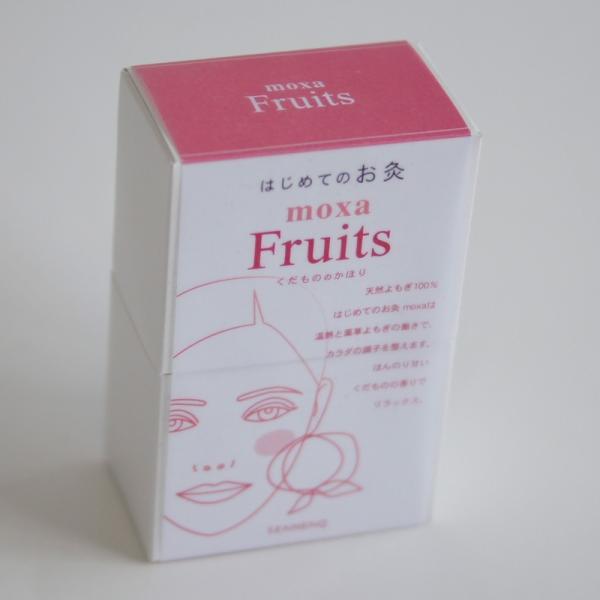 はじめてのお灸moxa Fruits くだもののかほり 50点入 お灸 せんねん灸|seedleaf|03