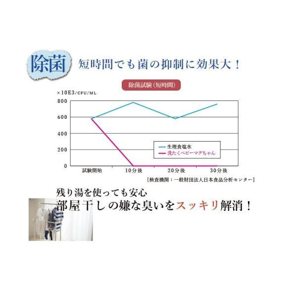 ナチュラルクリーニング 洗たくマグちゃん 宮本製作所 洗剤 洗濯まぐちゃん アイデアの方程式|seedleaf|06
