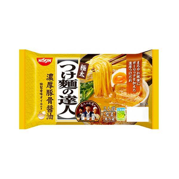 日清食品 つけ麺の達人 濃厚豚骨醤油 2人前 260gx8個(送料無料)(冷蔵商品)