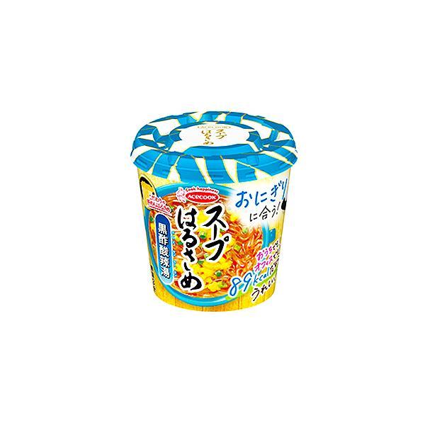 エースコック スープはるさめ 黒酢酸辣湯 34g ×12個(2ケース) /平めんタイプはるさめ /酸辣湯スープ /ラー油 /黒酢