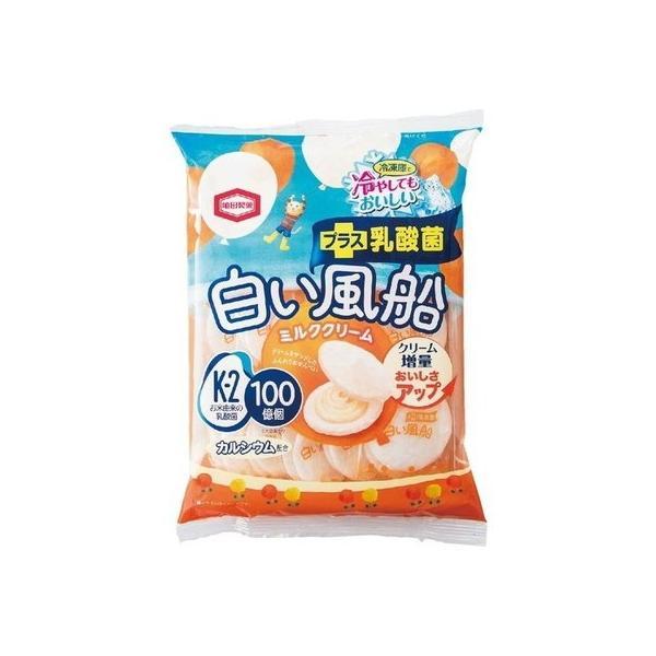 亀田製菓 白い風船ミルククリーム 18枚入×12個×2セット