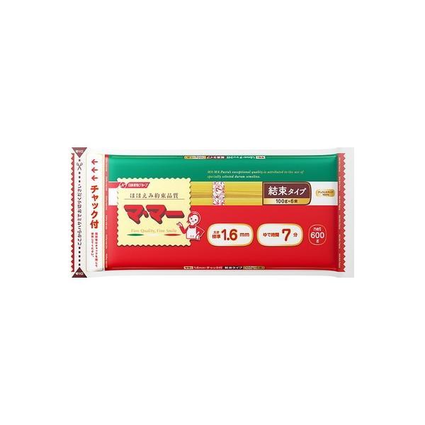 マ・マー チャック付結束スパゲティ 1.6mm 600g ×20個