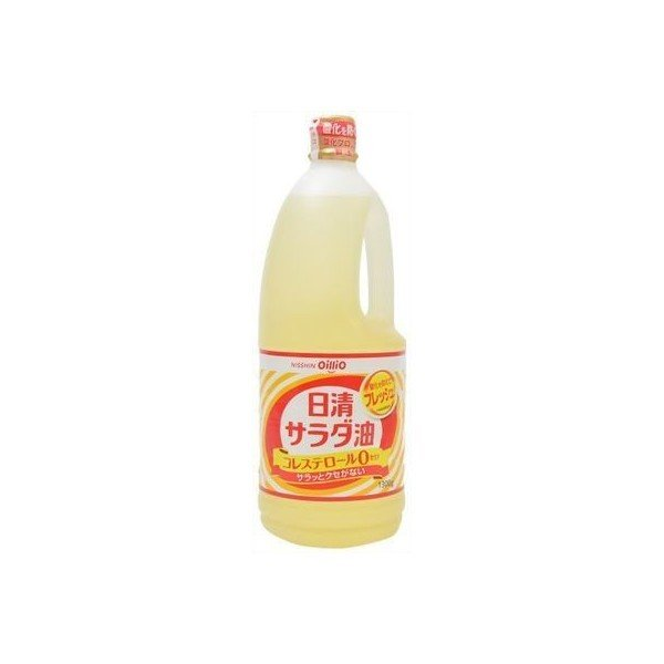 日清オイリオ 日清油 サラダ油 1300g ペット×10個 【送料無料】