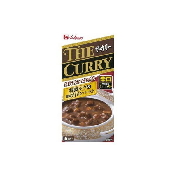 ハウス食品 ザ・カリー辛口140g×20個