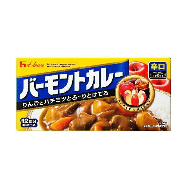 ハウス食品 バーモントカレー 辛口230g×60個