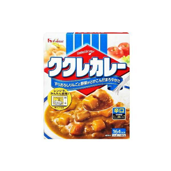 ハウス食品 ククレカレー 辛口 180g×10個