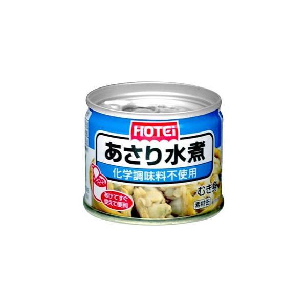 ホテイフーズコーポレーション ホテイあさり水煮8号缶 100g×12個 【送料無料】