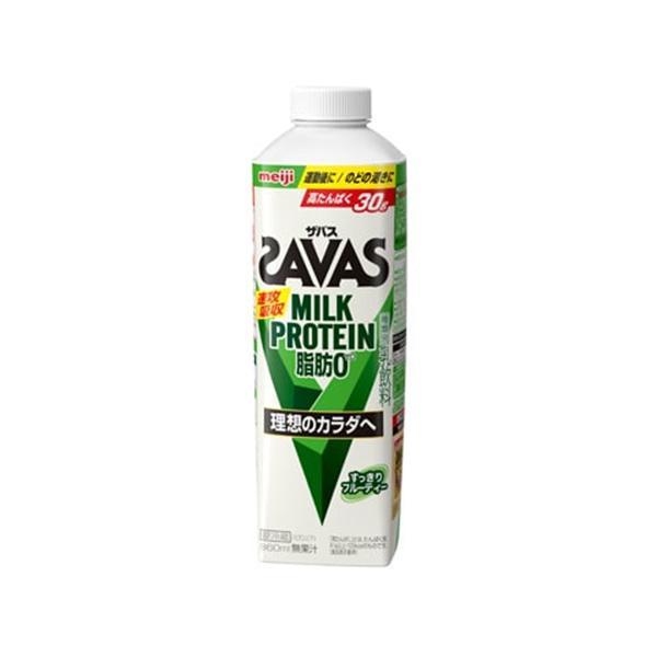 明治 (ザバス)MILK PROTEINミルクプロテイン脂肪0 860ml×6個 【冷蔵】