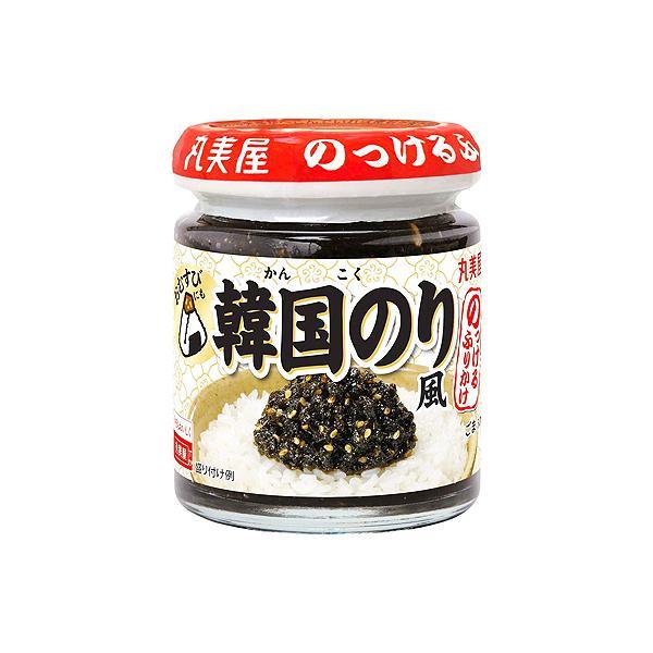 丸美屋 のっけるふりかけ韓国のり風 100g ×12個(2セット) /胡麻油風味 /韓国のり /瓶 /調味料