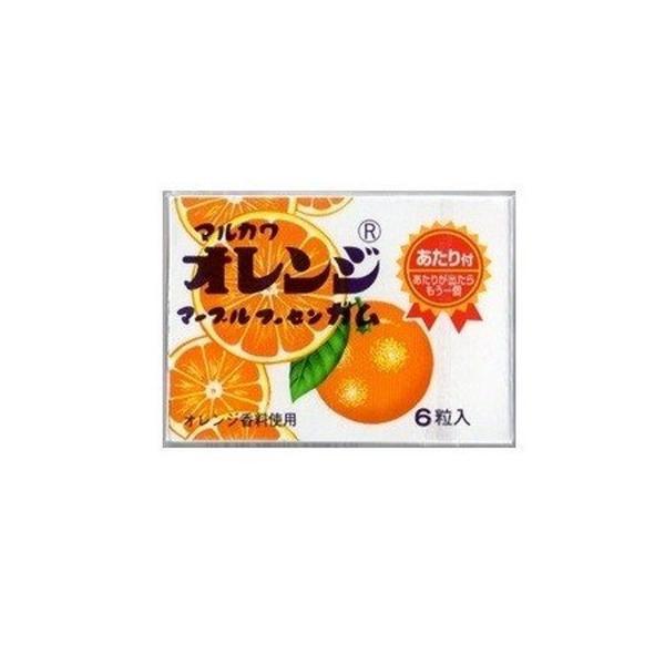 丸川製菓 オレンジマーブルガム×33個   /駄菓子/子供会/お祭り/景品/