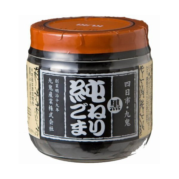 九鬼 純ねりごま黒 150g瓶×6個