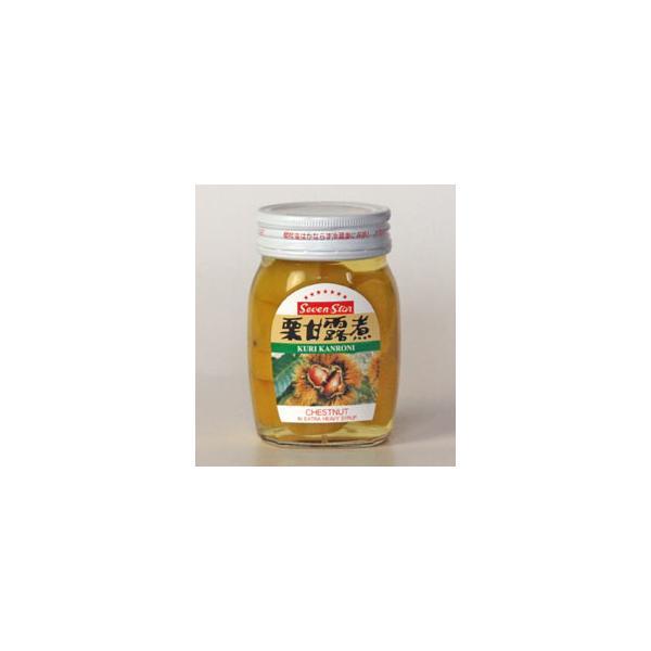 高知缶詰Seven-Star栗甘露煮瓶 165g×24個×2セット