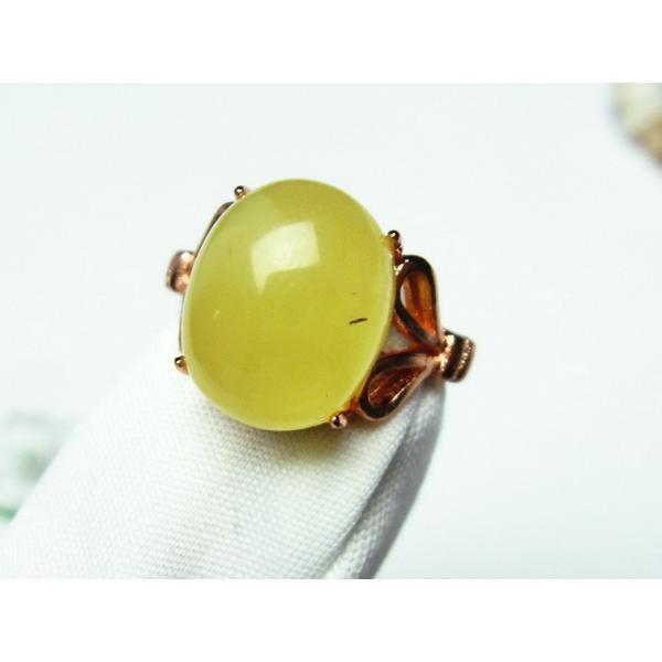アンバー 琥珀 指輪 (13号) t746-2527