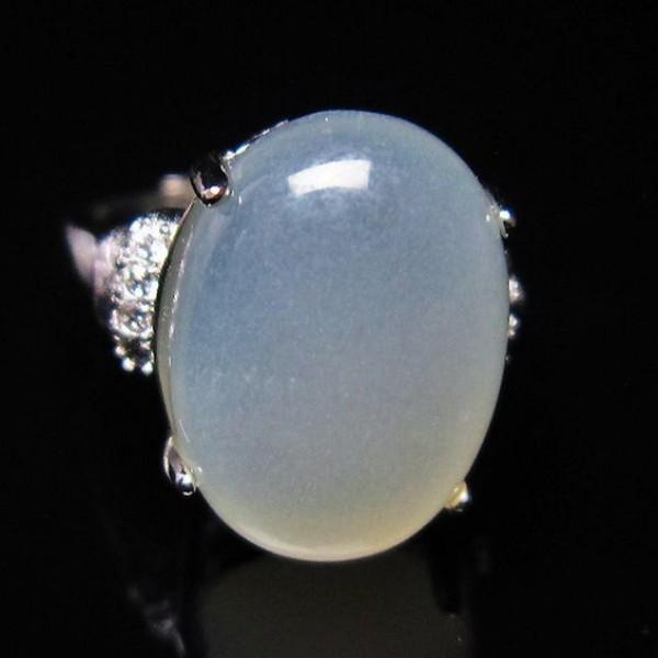 ムーンストーン 指輪  t275-18491