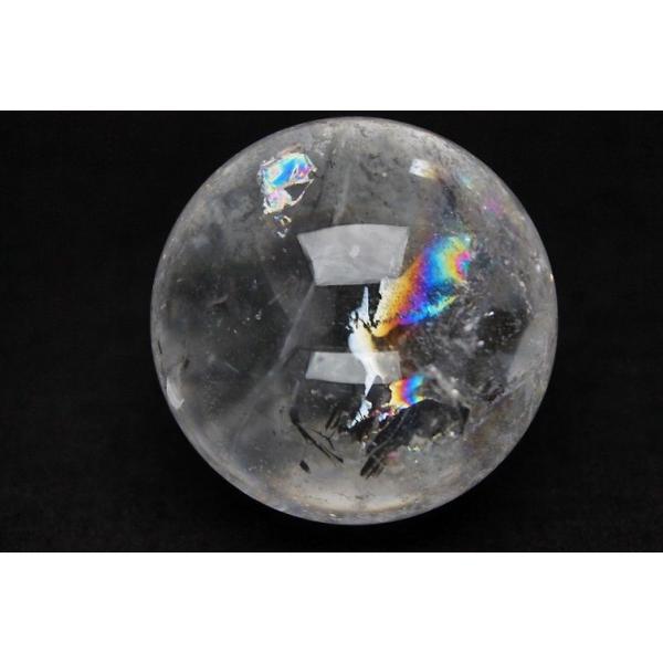 虹入り ヒマラヤ水晶 丸玉 55mm  t62-13083|seian|02