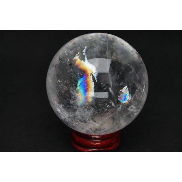 虹入り ヒマラヤ水晶 丸玉 55mm  t62-13083|seian|04