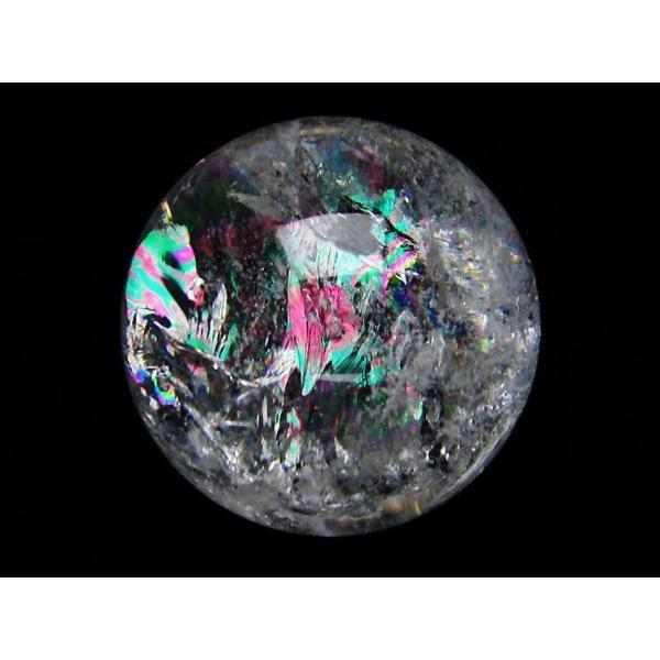 虹入り ヒマラヤ水晶 丸玉 58mm  t62-13188|seian|02
