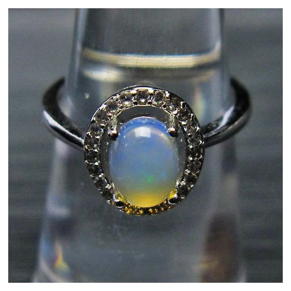 プレシャスオパール 指輪 (10号) t674-2045