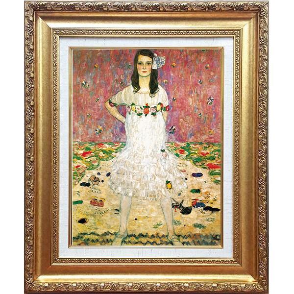 「メーダ・プリマヴェージの肖像」クリムト