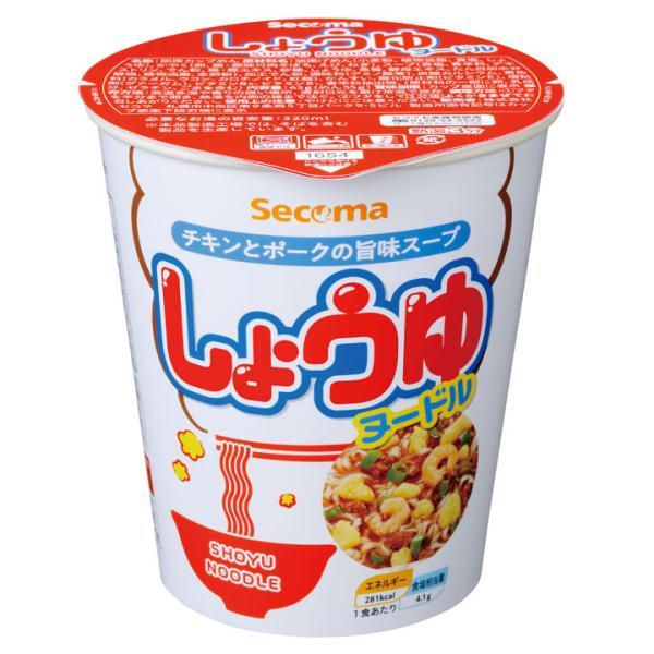 セイコーマート Secoma しょうゆヌードル 12個 セコマ カップラーメン カップ麺 箱買い 1ケース 醤油 北海道