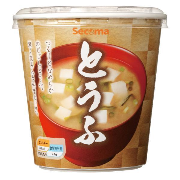 セイコーマート Secoma カップみそ汁 とうふ 6個 セコマ インスタント 豆腐 味噌汁
