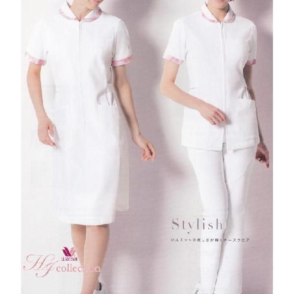 医療白衣 ワコール(wacoal) HIコレクション ソワンクレエ ナースウェア HI205 チュニック S〜3L|seifukusimasenka