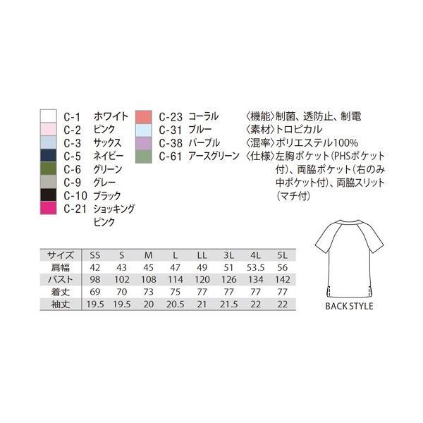 [兼用] 【代引き不可】 (MZ0018) 白衣 unite ミズノ ナースウェア ・MZ-0019 (mizuno) (MZ0019) MZ-0018 スクラブ 上下セットSS〜5L