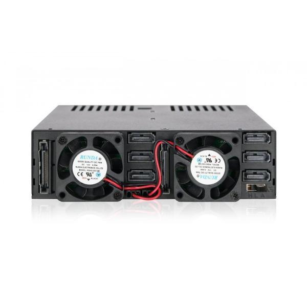 MB326SP-B リムーバブルケース 6 x 2.5 インチ SAS / SATA HDD / SSD 台搭載可 5インチ ベイ サイズ|seijinshoji|04