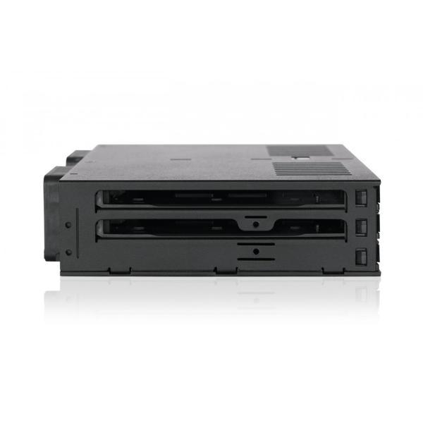 MB326SP-B リムーバブルケース 6 x 2.5 インチ SAS / SATA HDD / SSD 台搭載可 5インチ ベイ サイズ|seijinshoji|05