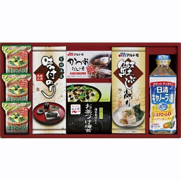 和食 詰合せ セットアマノフーズ&永谷園食卓セット味噌汁 お茶漬け法事・法要・粗供養・年祭のお返し(返礼品)に