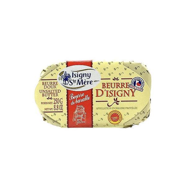 フランス イズニー チャーニング発酵バターAOP 食塩不使用 250g   ISIGNY