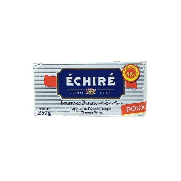 エシレバター 板 【食塩不使用】 250g   ECHIRE