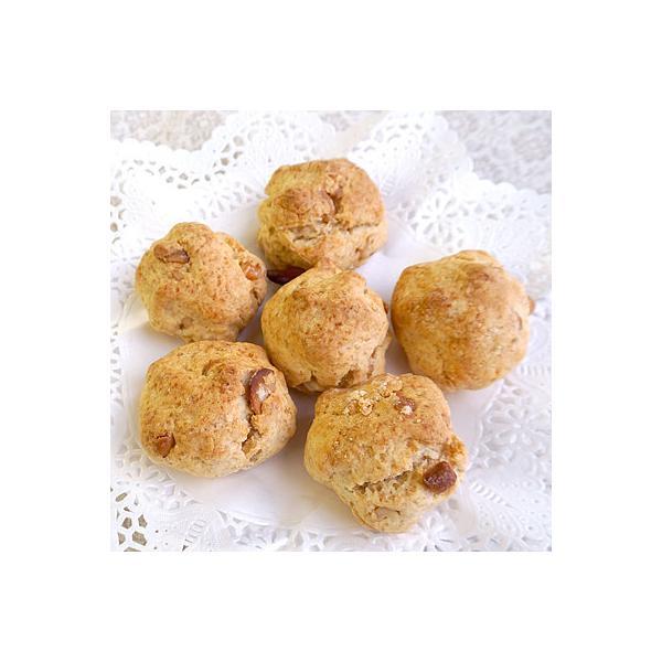 成城石井自家製 カシューナッツの全粒粉スコーン 6個 | D+2
