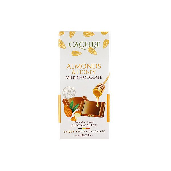 カシェ ミルクチョコレート アーモンドハニー 100g