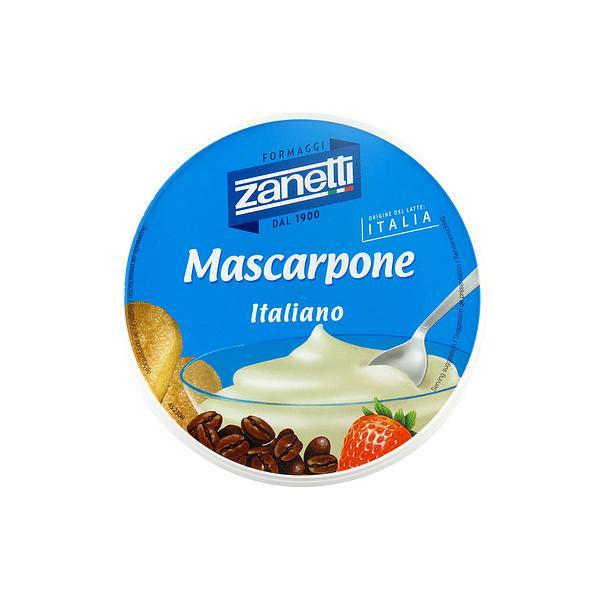 イタリア ザネッティ マスカルポーネ 250g|月・火出荷不可