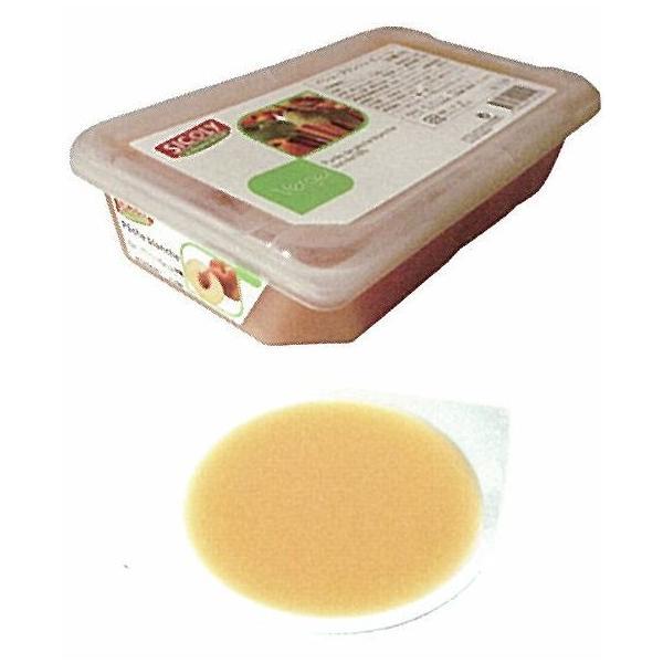 シコリ/冷凍ペシュブランシュピューレ(10%加糖) 1kg<白桃>