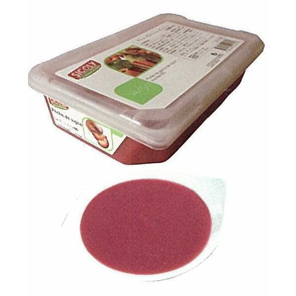 シコリ/冷凍ペシュヴィーニュピューレ(無糖) 1kg<赤桃>