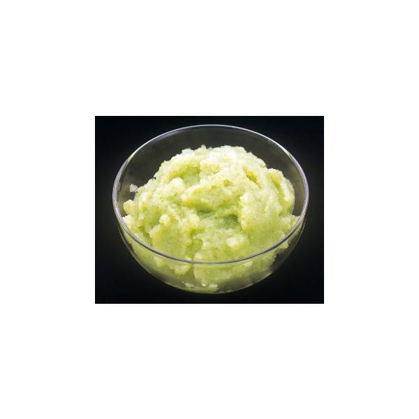 ボワロン/冷凍ポムベルトピューレ(14%加糖) 1kg<青リンゴ>