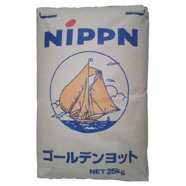 日本製粉/強力粉 ゴールデンヨット 25kg<小麦粉>