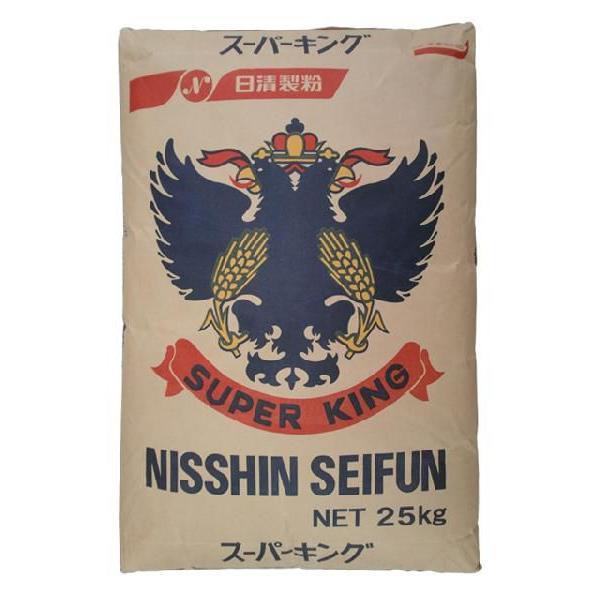 日清製粉/強力粉 スーパーキング 25kg<小麦粉>