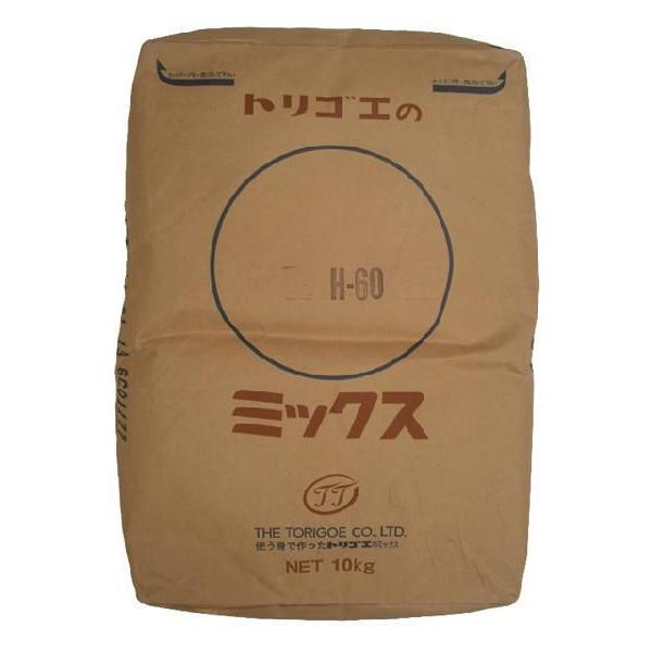 鳥越製粉/H-60 ホットケーキミックス 10kg<ミックス粉>