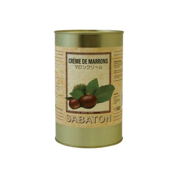 サバトン/マロンクリーム 5kg缶<栗>