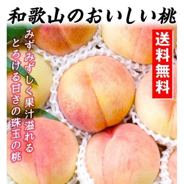 桃 和歌山産 和歌山の美味しい桃 4kg 1箱 送料無料 ご家庭用【数量限定】 seikaokoku 03